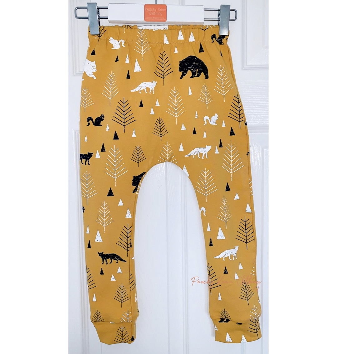 Mustard Bear Leggings