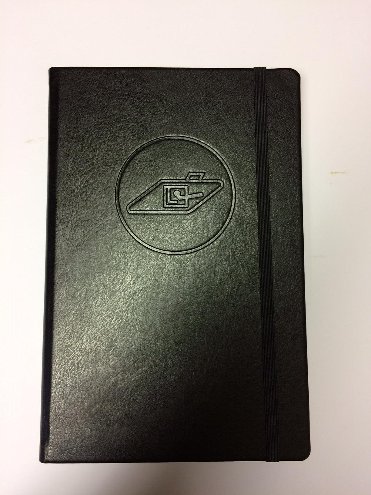 RTR A5 Embosed Notebook (0104 B4)