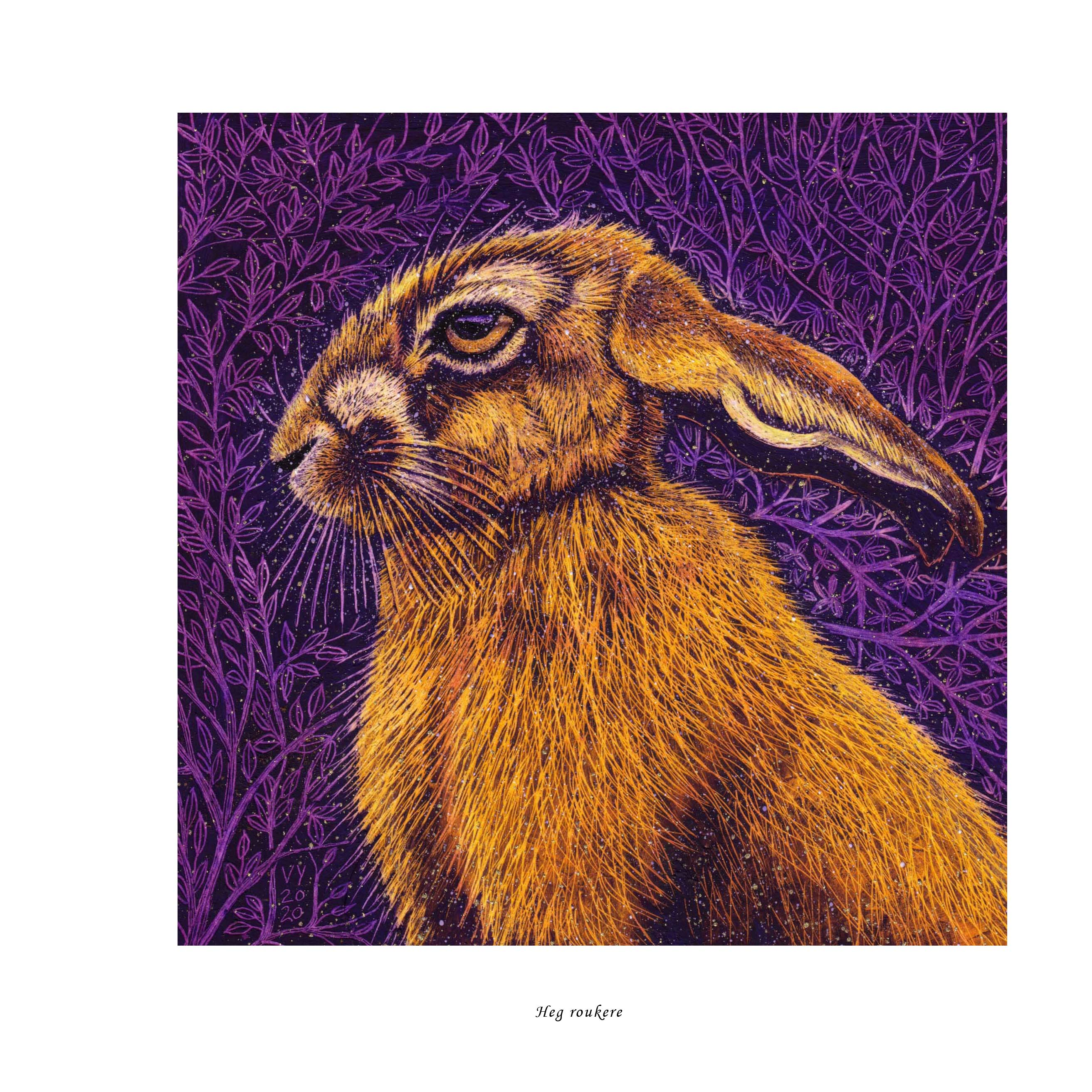 'Dreams of Hare' hardcover book
