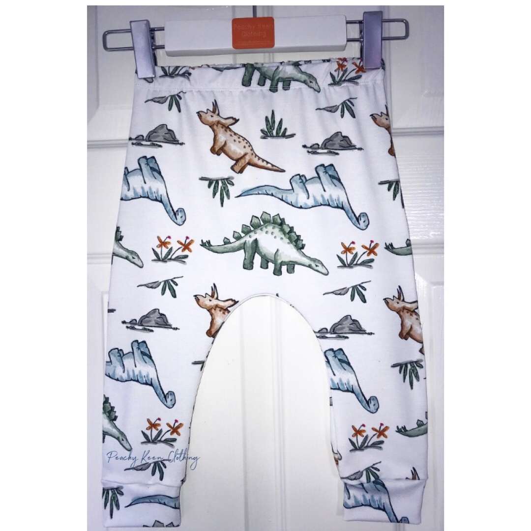 Water Colour Dinosaur Leggings