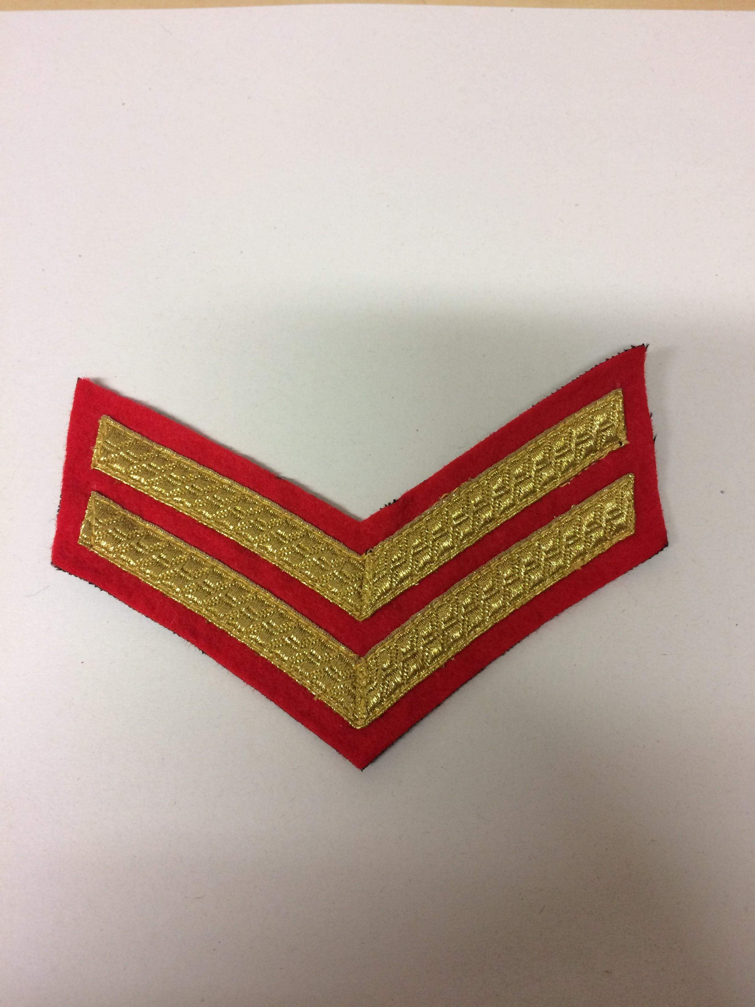 Cpl Mess Dress Rank Attached Arms (0215 B4)