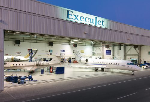 ExecuJet Lagos (DNMM) FBO Lockdown Notification