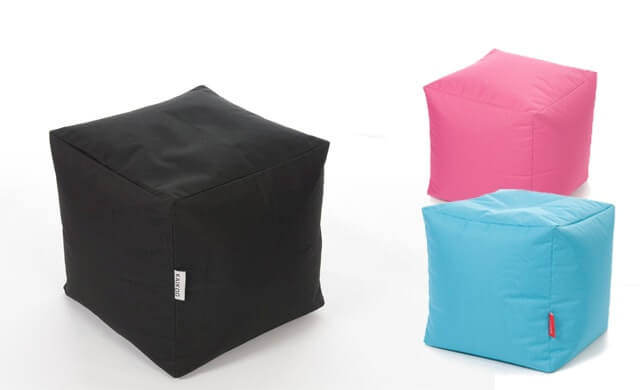 New Cube Fabric Bean Bag Style - Style Of bag chairs Simple
