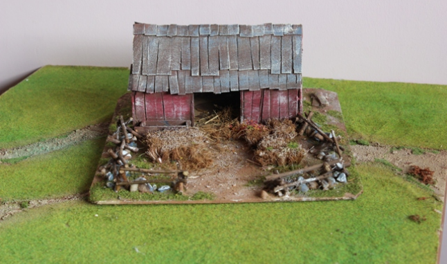 AMERICAN BARN WITH FIELD FOR AWI OR ACW