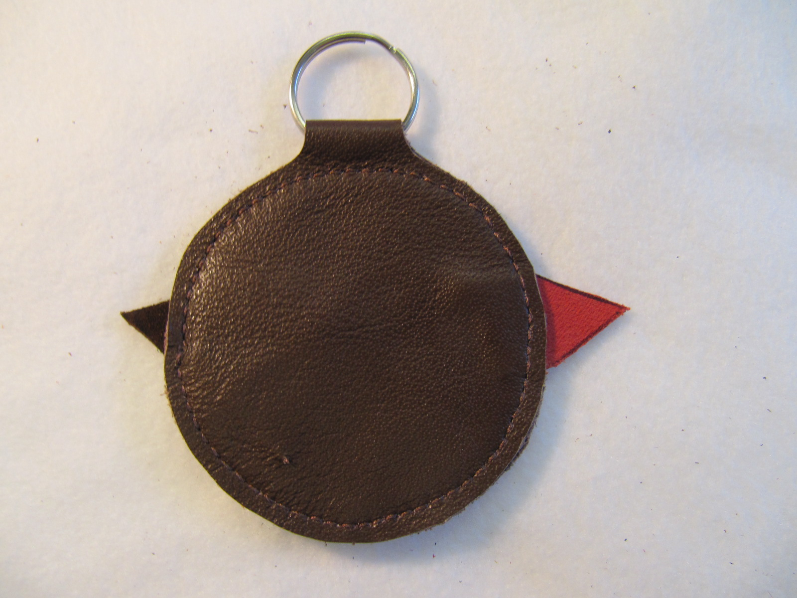 Christmas Robin Key Fob