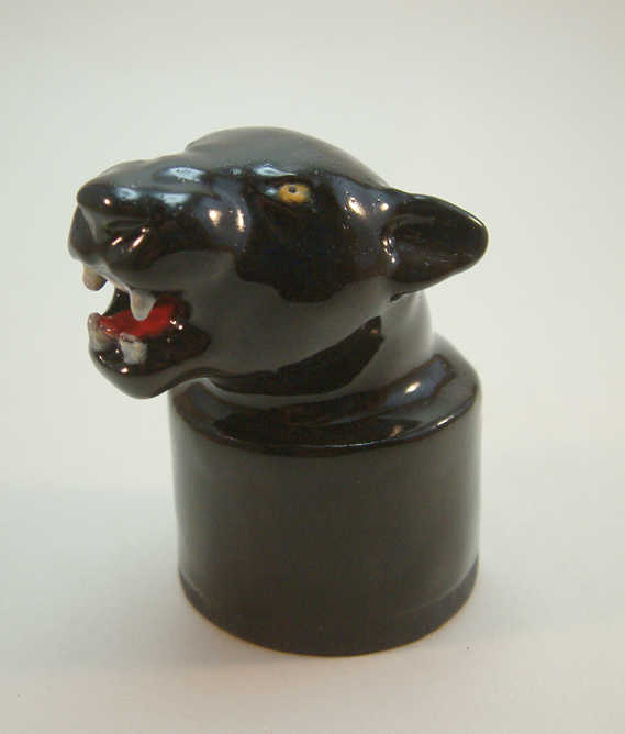 Panther bottle topper