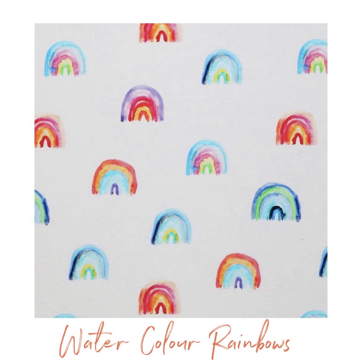 Water Colour Rainbow Leggings