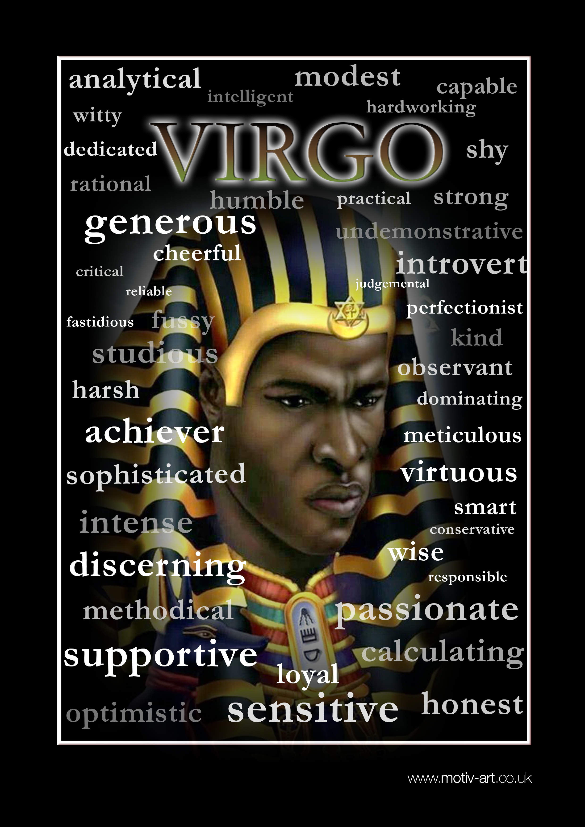 Virgo 22 Aug - 23 Sept