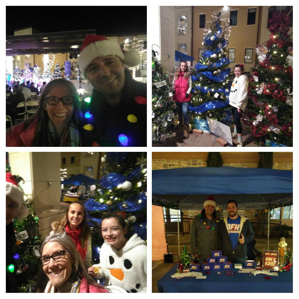 Meet & Greet, citizens & vendors, Colleyville Christmas tree lighting event, Colleyville, TX - Thank You