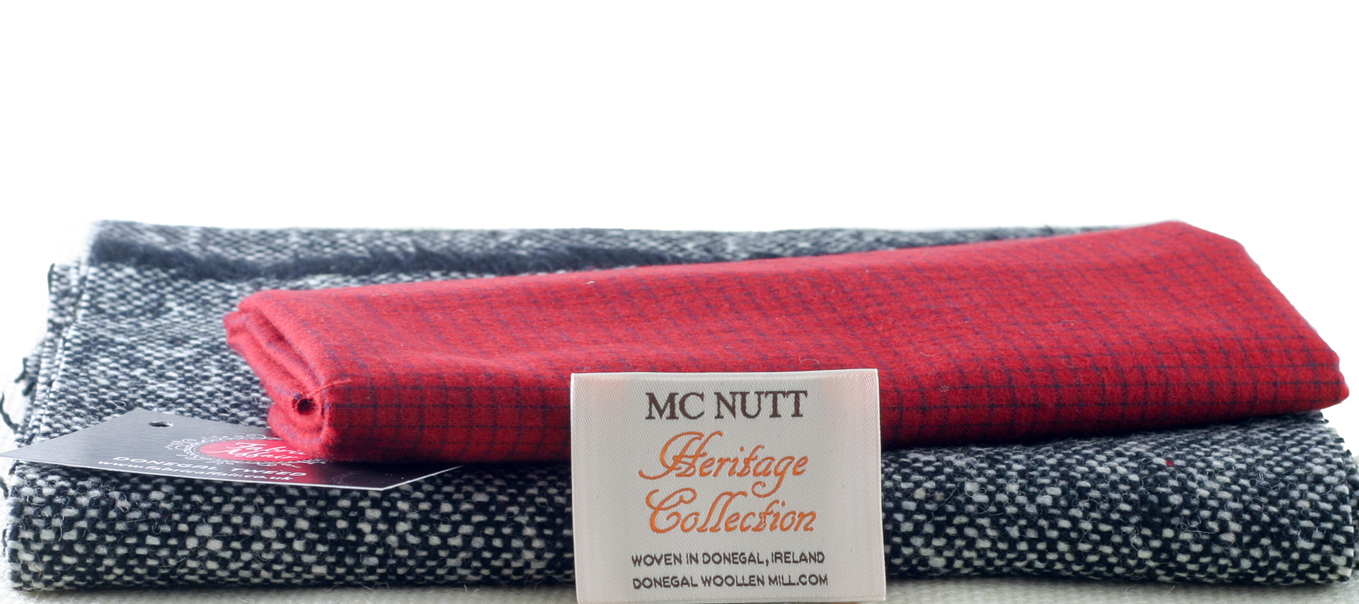 Donegal Tweed by Fabric Affair: Heritage Collection, Scarf Kit.