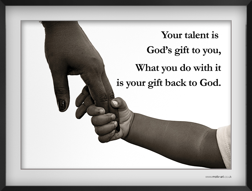 Your talent is...