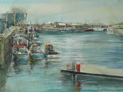 Howth Harbour Sketch I