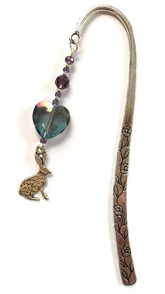 hare large bookmark