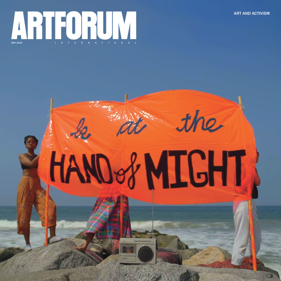 Artforum Magazine Covers the Work of Suzanne Lacy in Art and Activism Issue