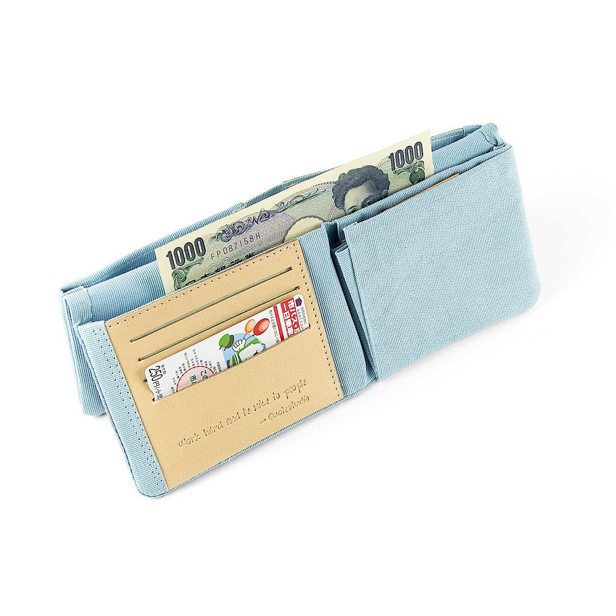 Fold² Wallet Light Blue || 財布 ライトブルー