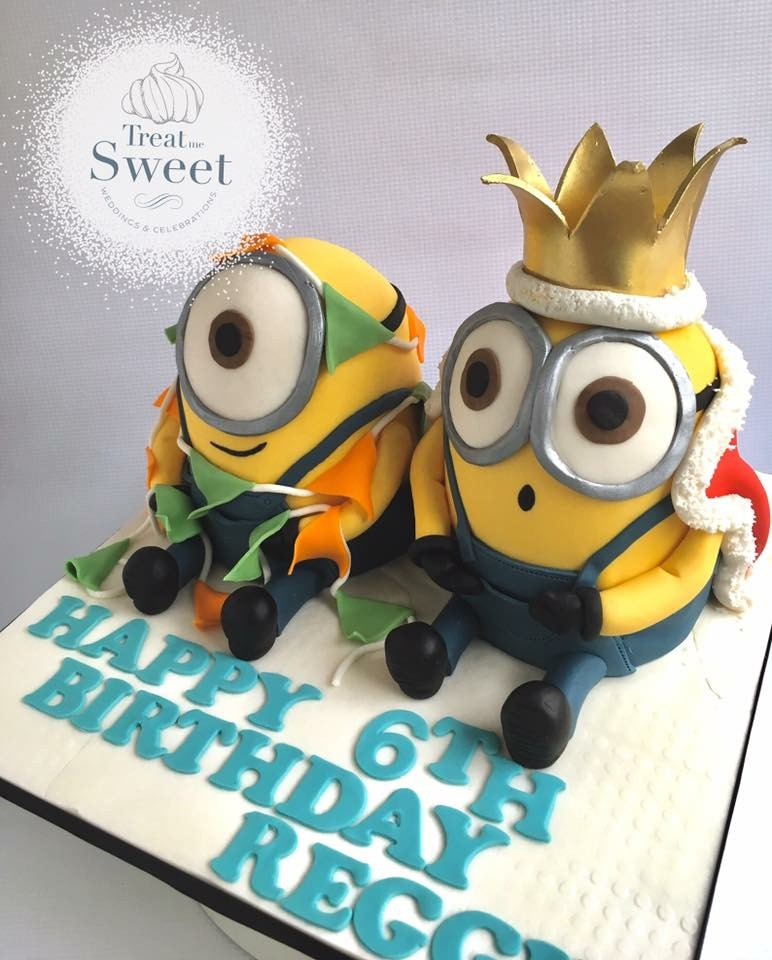 Minion Sculpted cakes - Treat me Sweet
