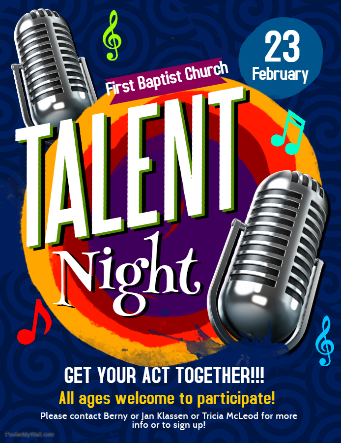 Copy of Talent Night Flyer - Made with PosterMyWall 1jpg