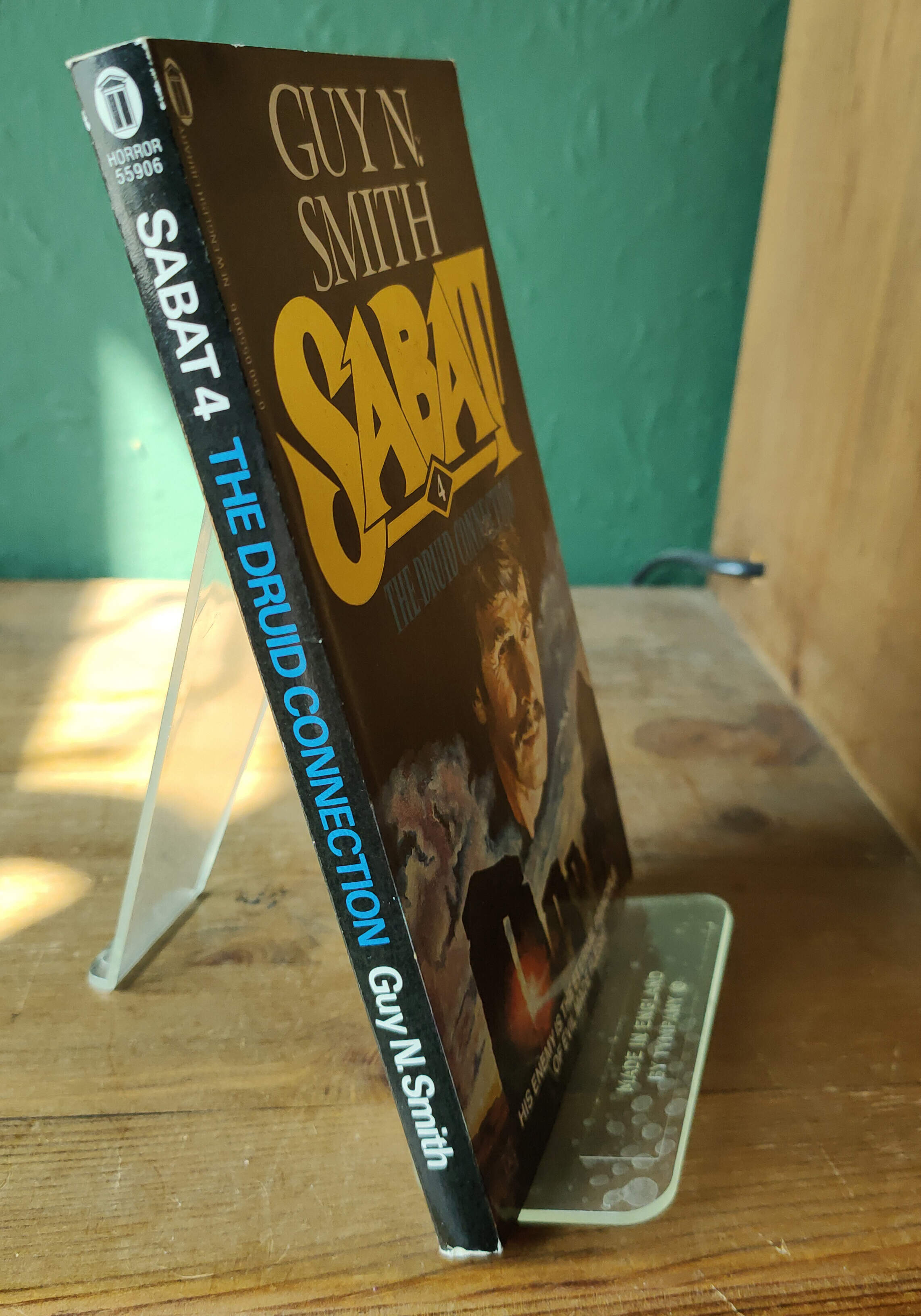 Sabat 4 The Druid Connection Signed UK PB