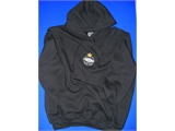 Hoodie Black Adult Size Small (0148 B2)