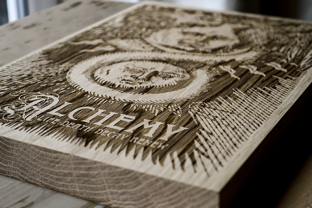 Alchemy - Wooden Poster