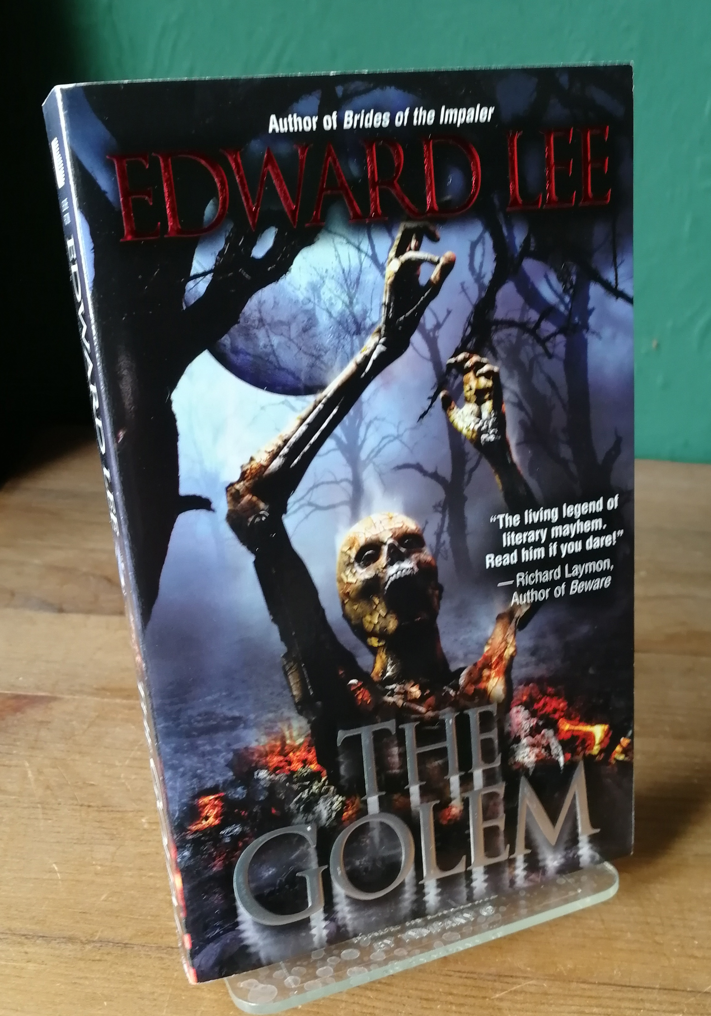 The Golem Signed US First PB Edition