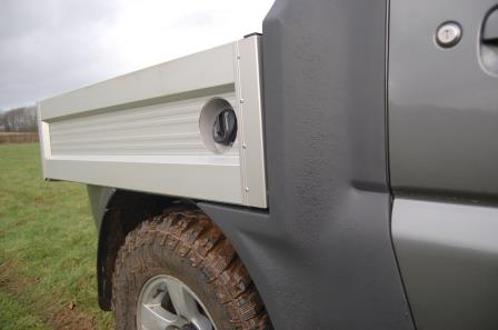 Suzuki Jimny pickup side mouldings