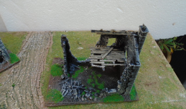 RUINED COTTAGE WARLORD GAMES BOLT ACTION