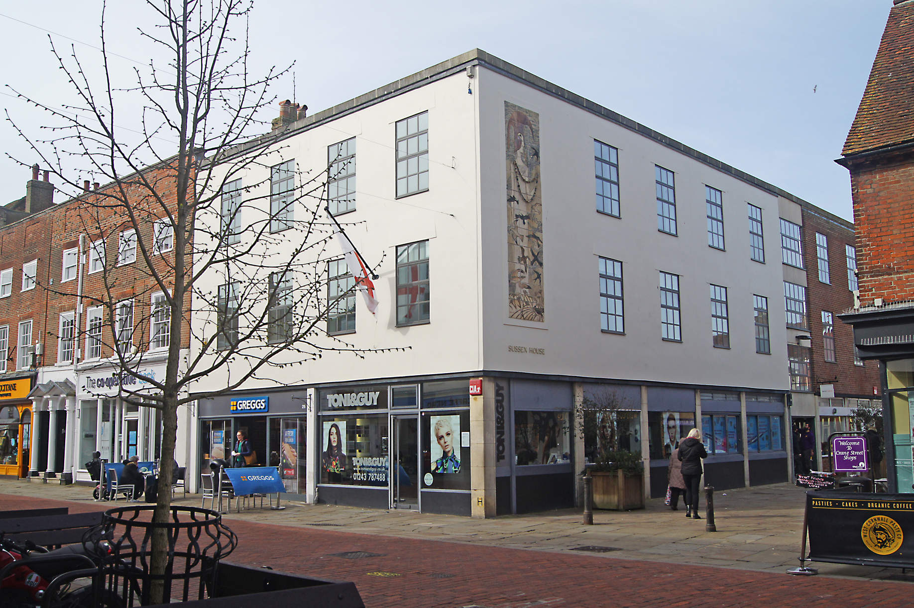 Sussex House Office Space to let on North Street Chichester West Sussex