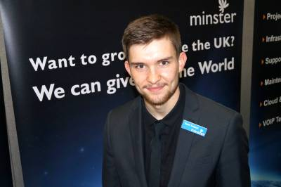 Student secures work placement with IT firm Minster Micro