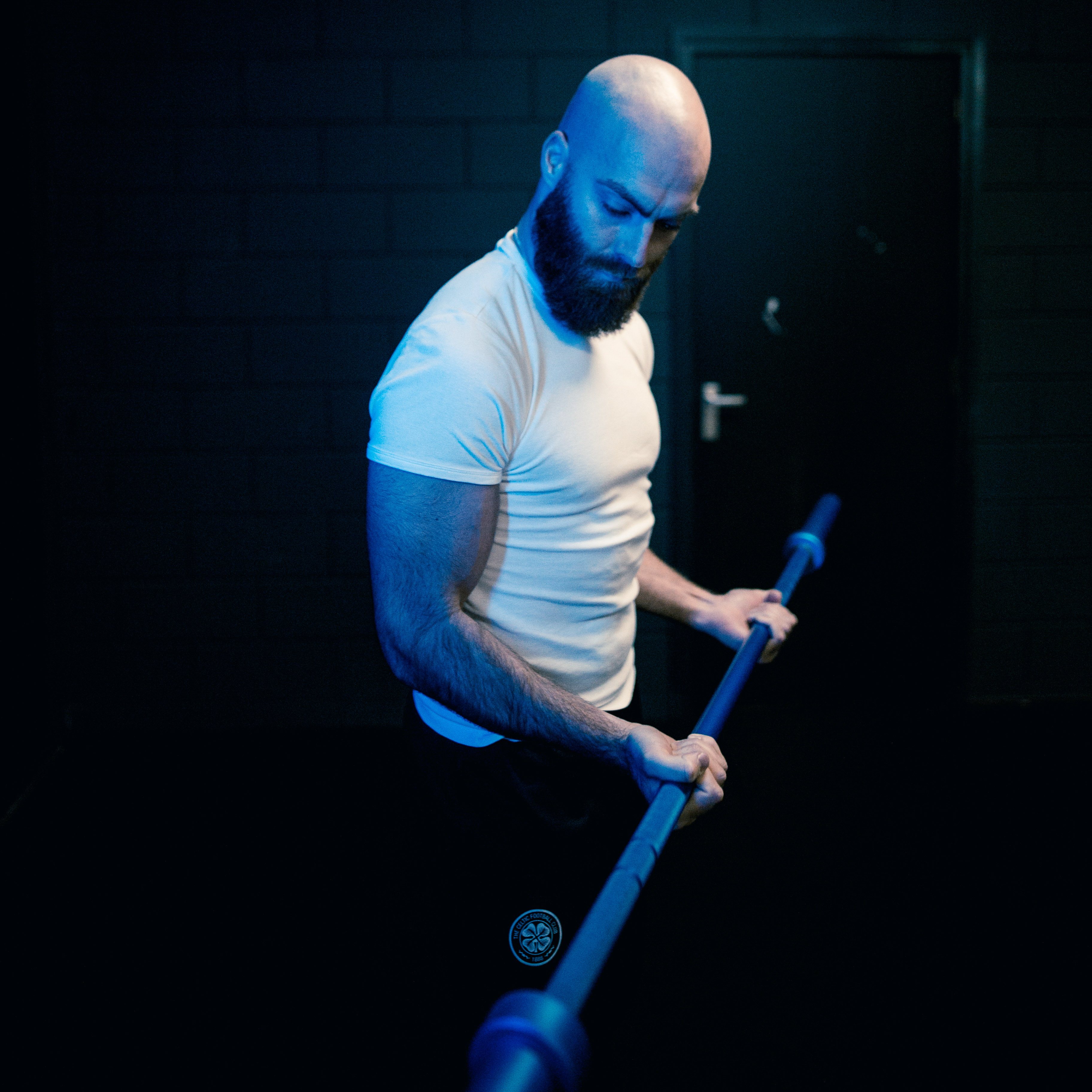Blue Barbell action