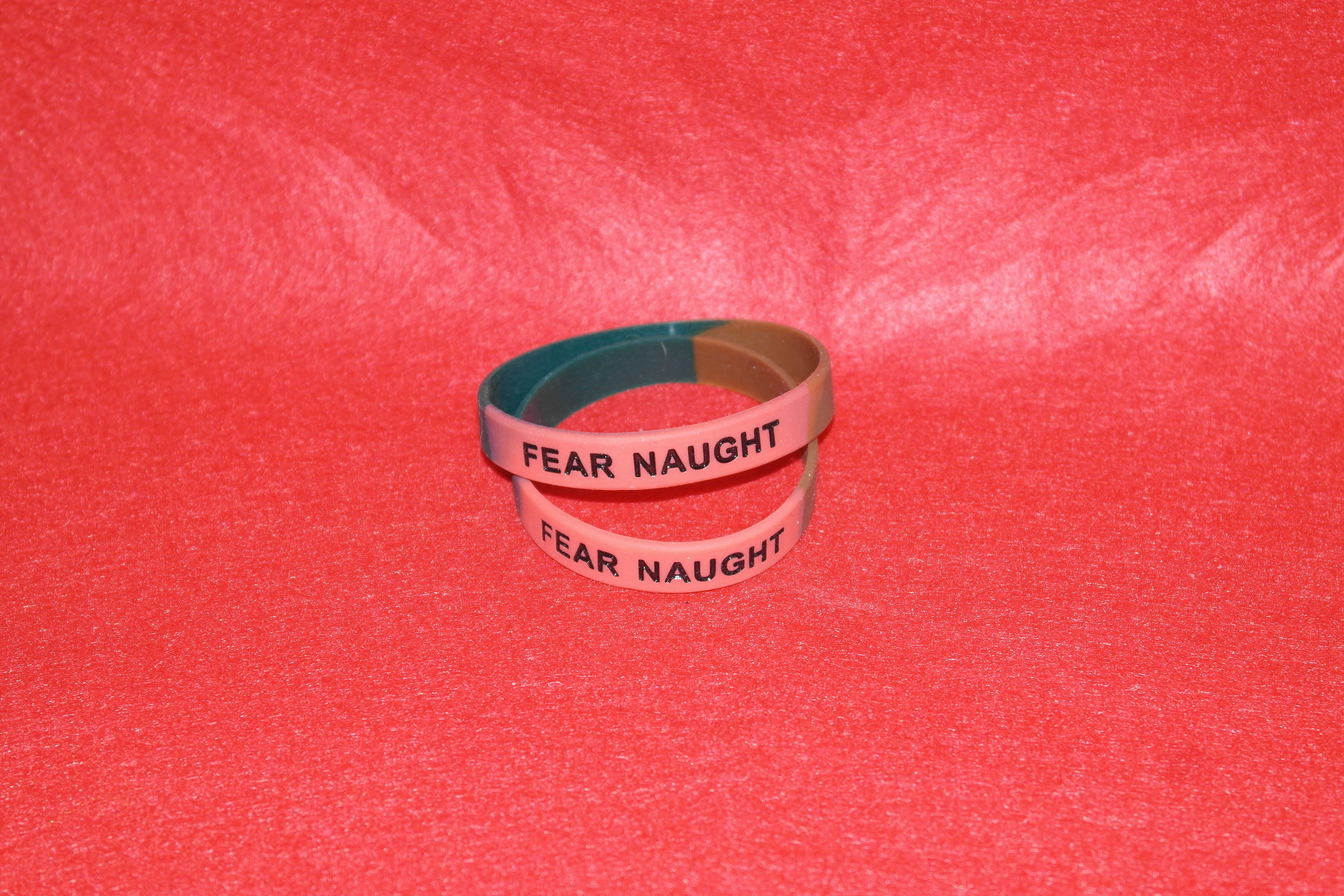 FEAR NAUGHT Wristband (0242)