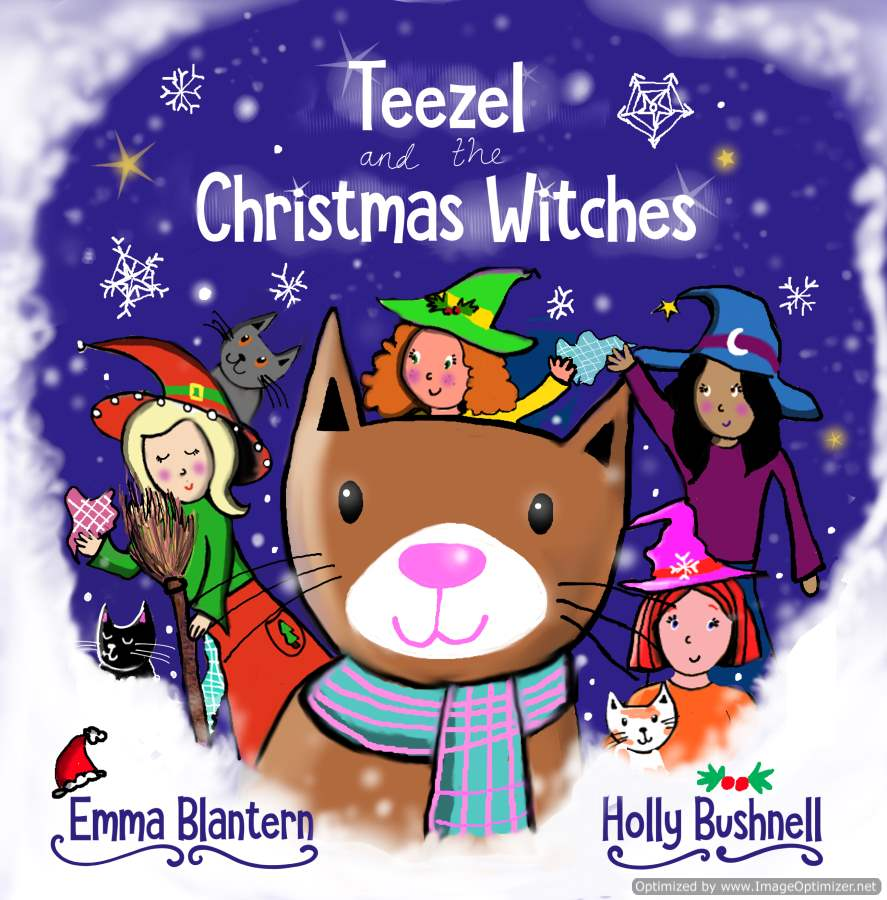 "Christmas in the Library with ""Teezel and the Christmas Witches"""