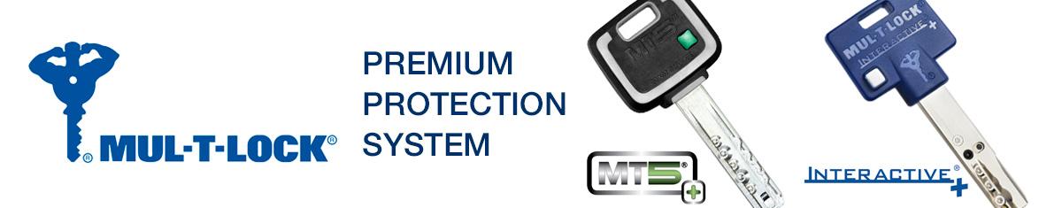 Mul-T-Lock Barcelona. Mul-T-Lock MT5+ Reforzado.