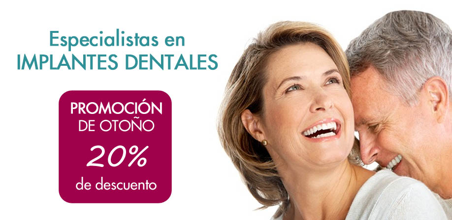 Implantes dentales baratos Madrid