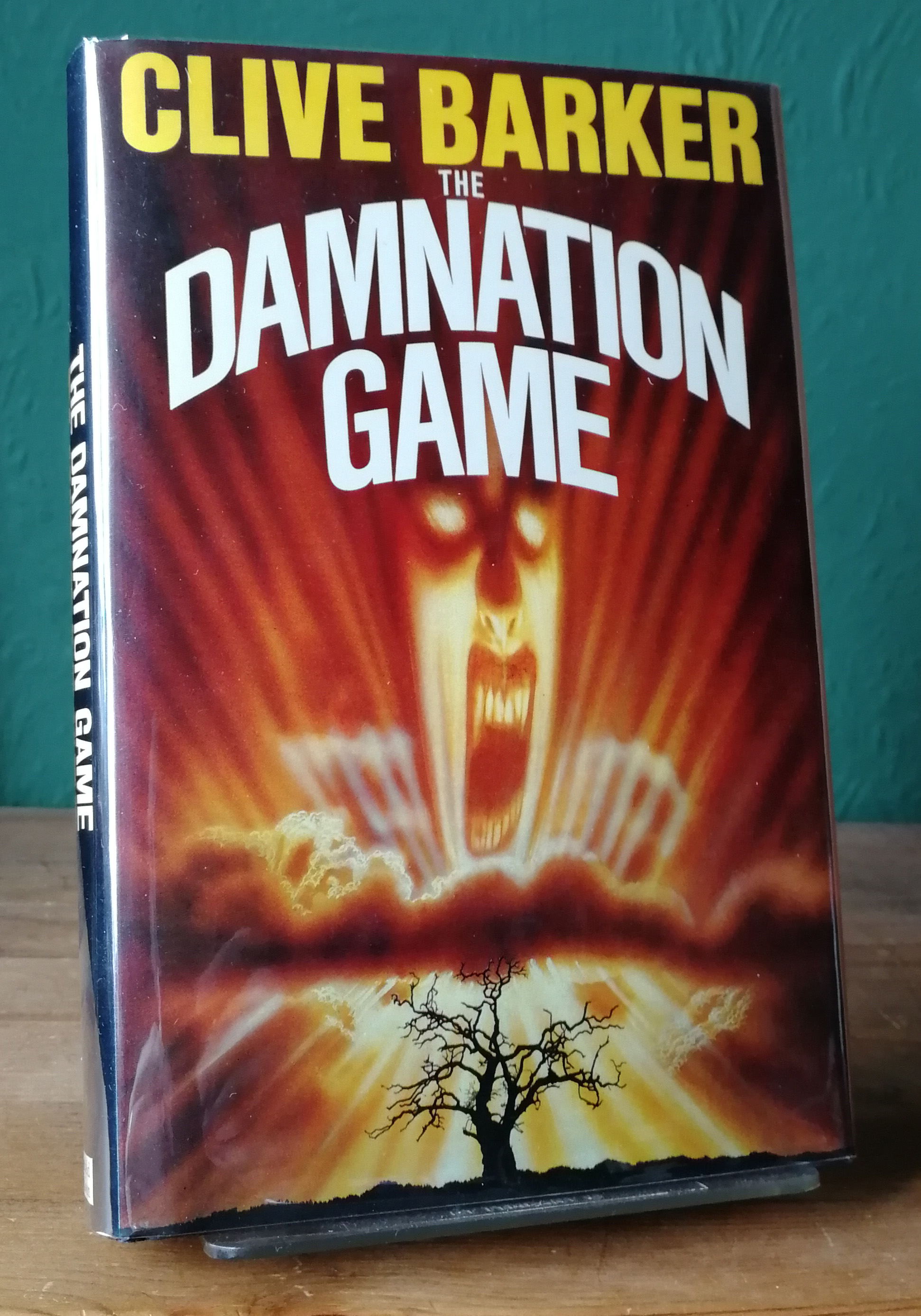 The Damnation Game UK First Edition