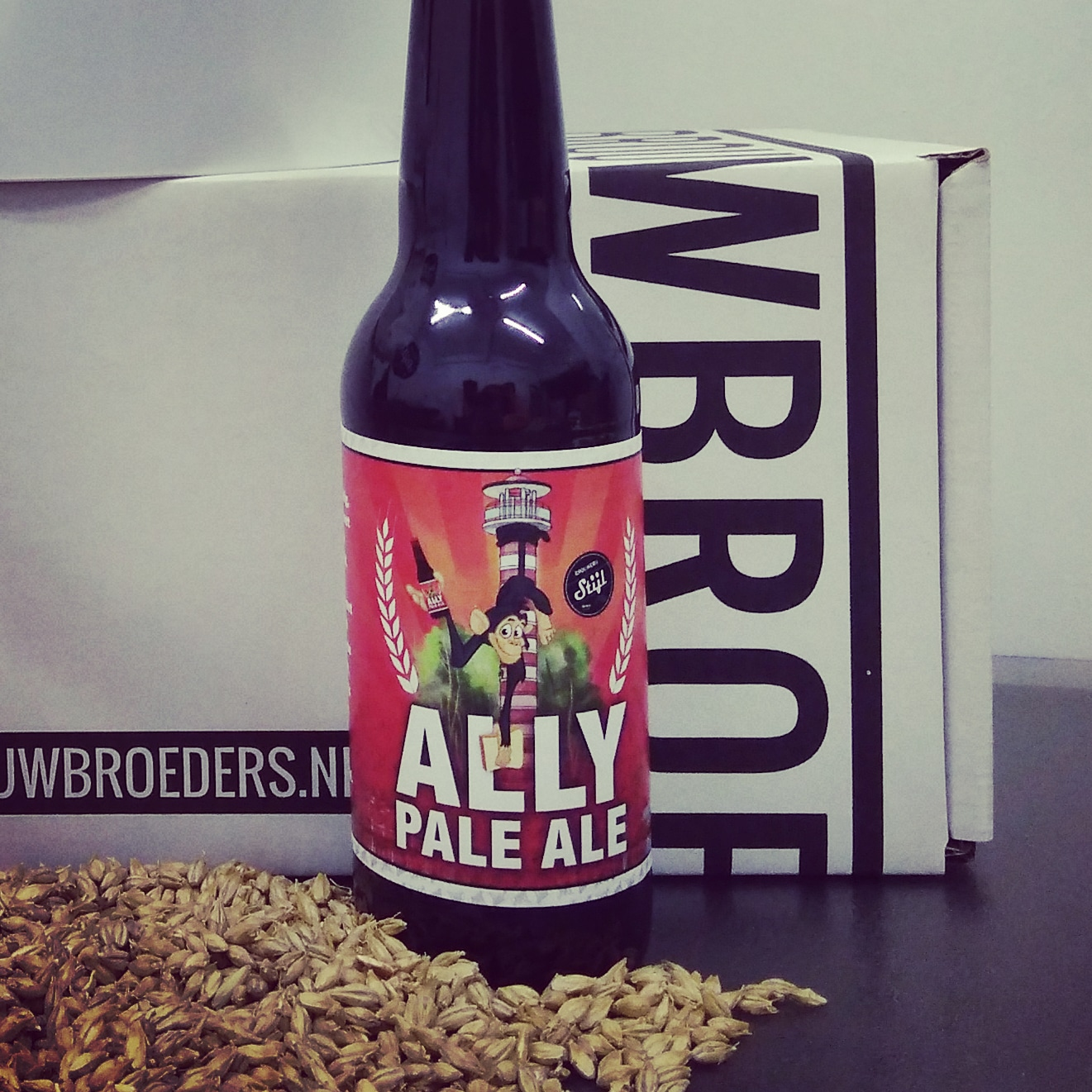 Brouwpakket Ally Pale Ale - Brouw thuis circulair bier