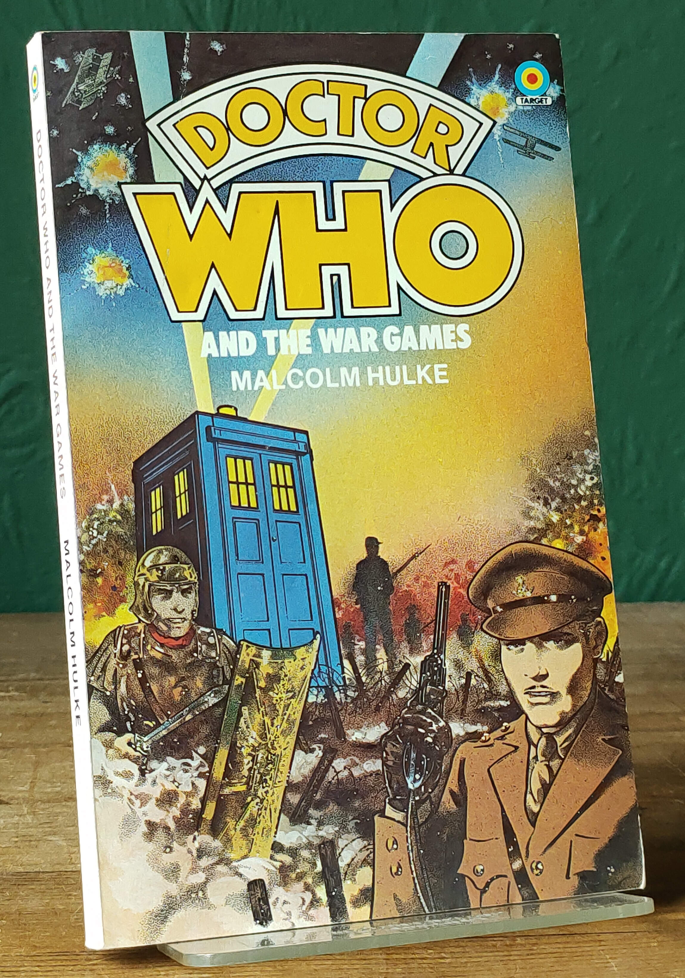 Doctor Who and the War Games UK First PB