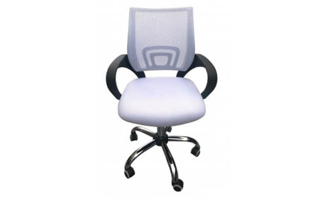 Tate White Office Chair