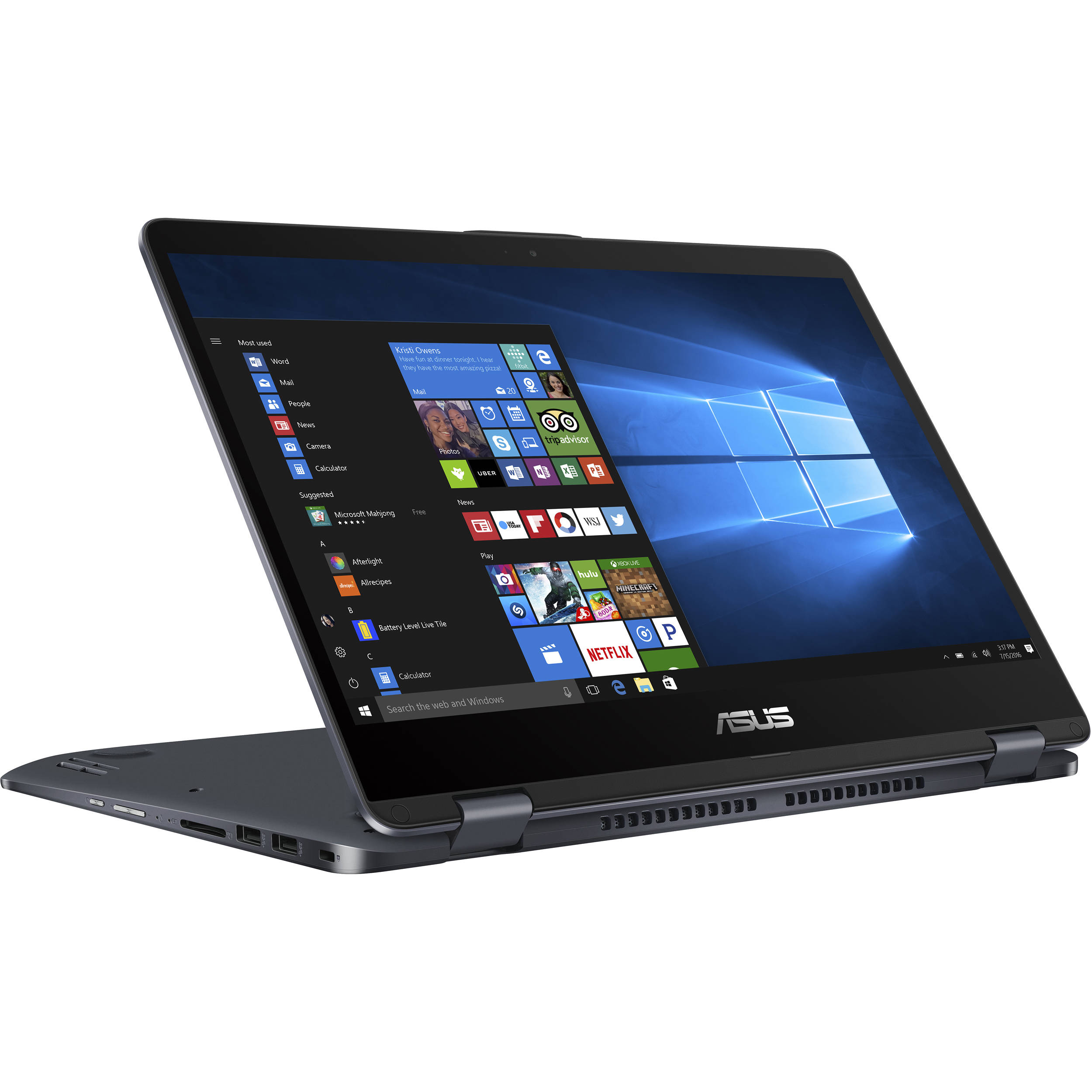 Asus Flip and Touch TP401 Student Laptop Pack