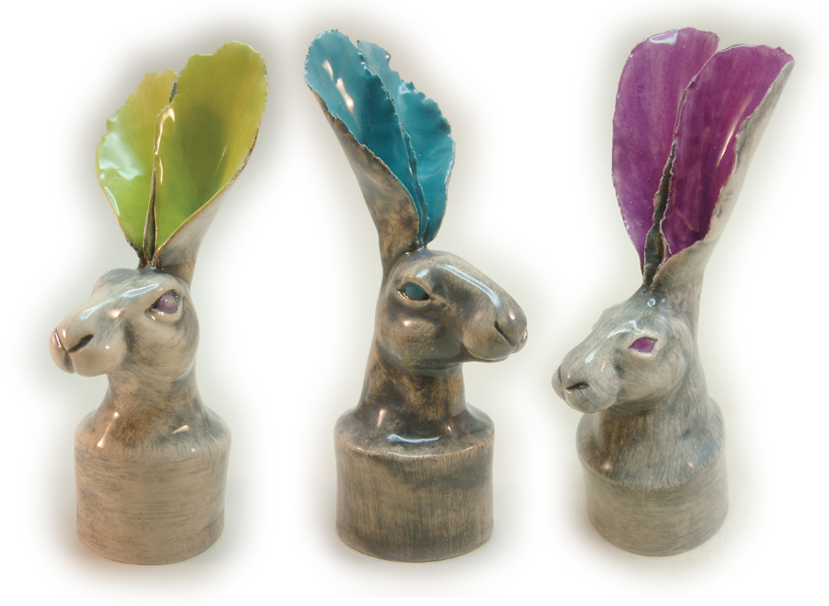 Hare bottle toppers (various)