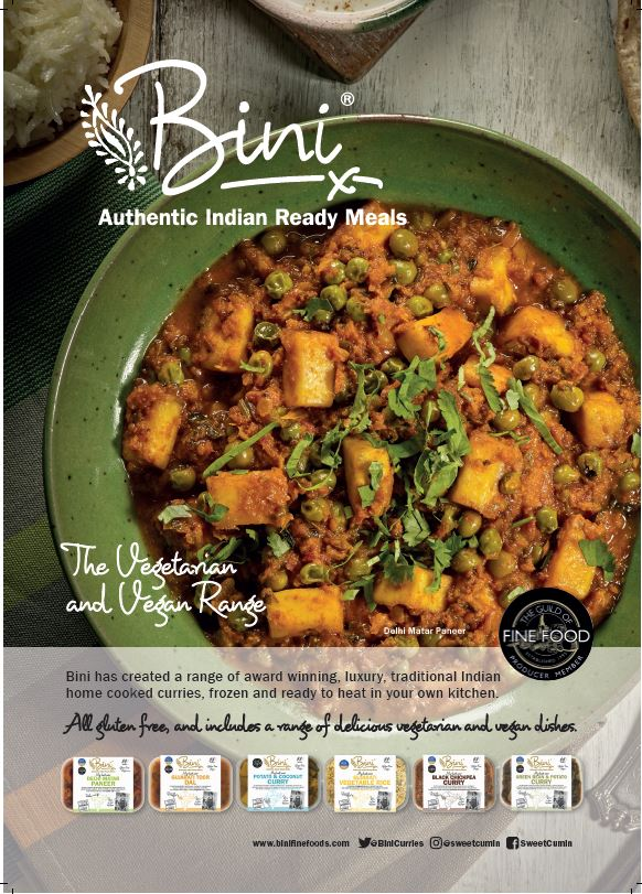 New Stockist for Bini Curries- Little Jack Horners - Mells Somerest