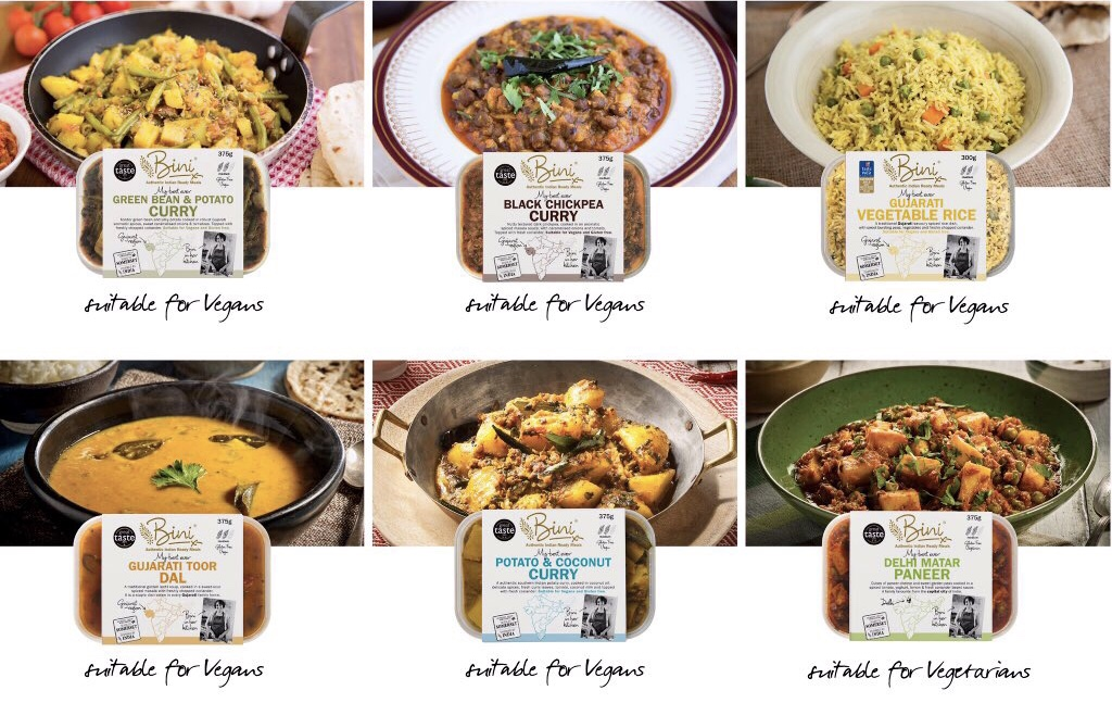 Bini curries can be bought online