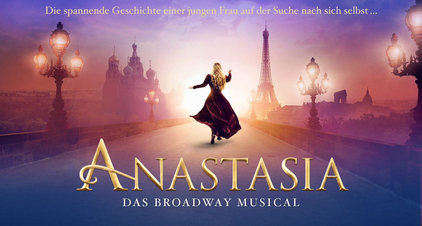 THEATRE - Male dancer (excellent ballet, partnering & jazz) for 'ANASTASIA' - The Musical in Stuttgart -- GERMANY AUDITIONS (apply ASAP)