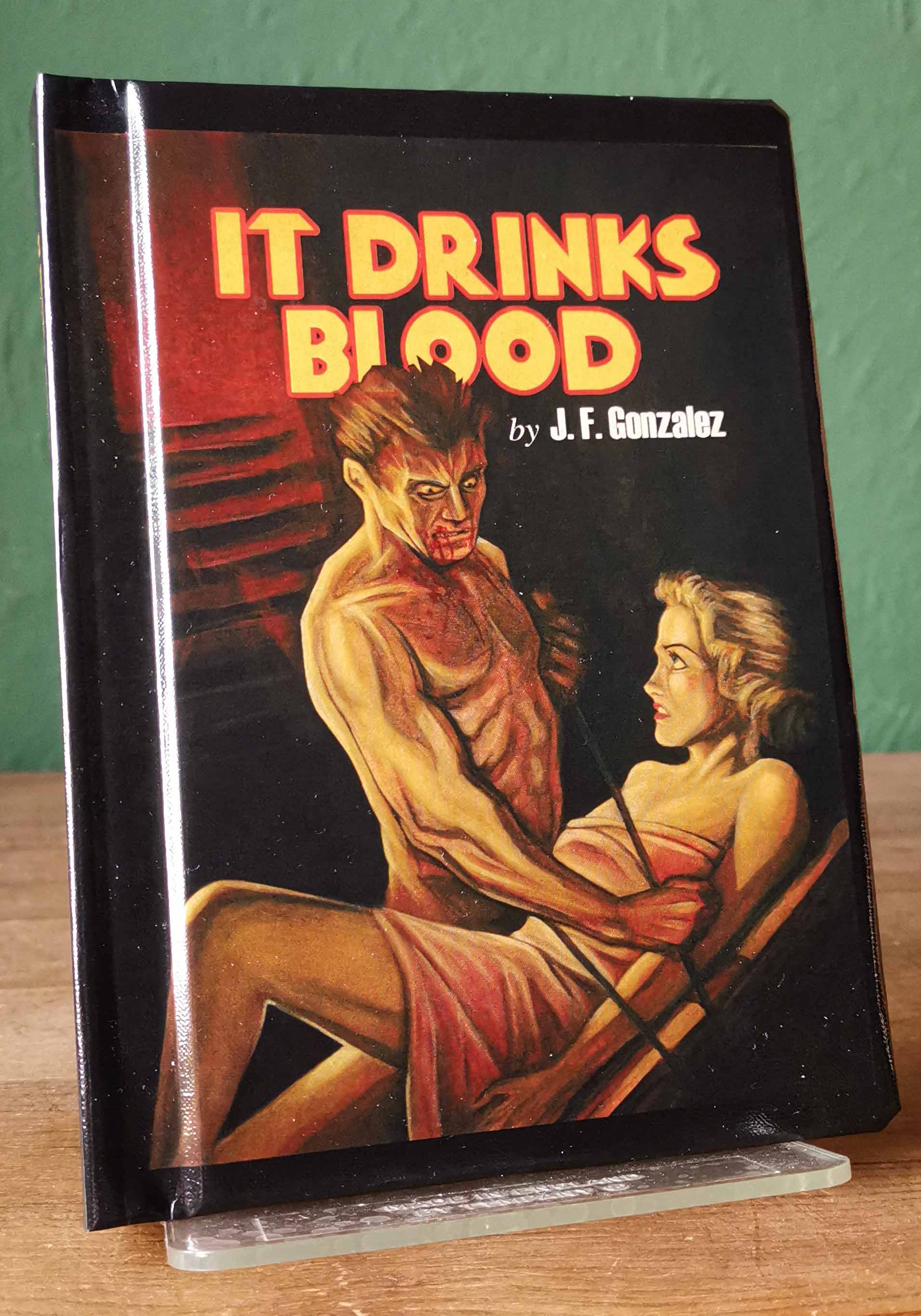 It Drinks Blood Signed Limited Edition
