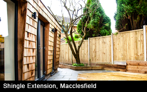 Shingle Extension Macclesfield