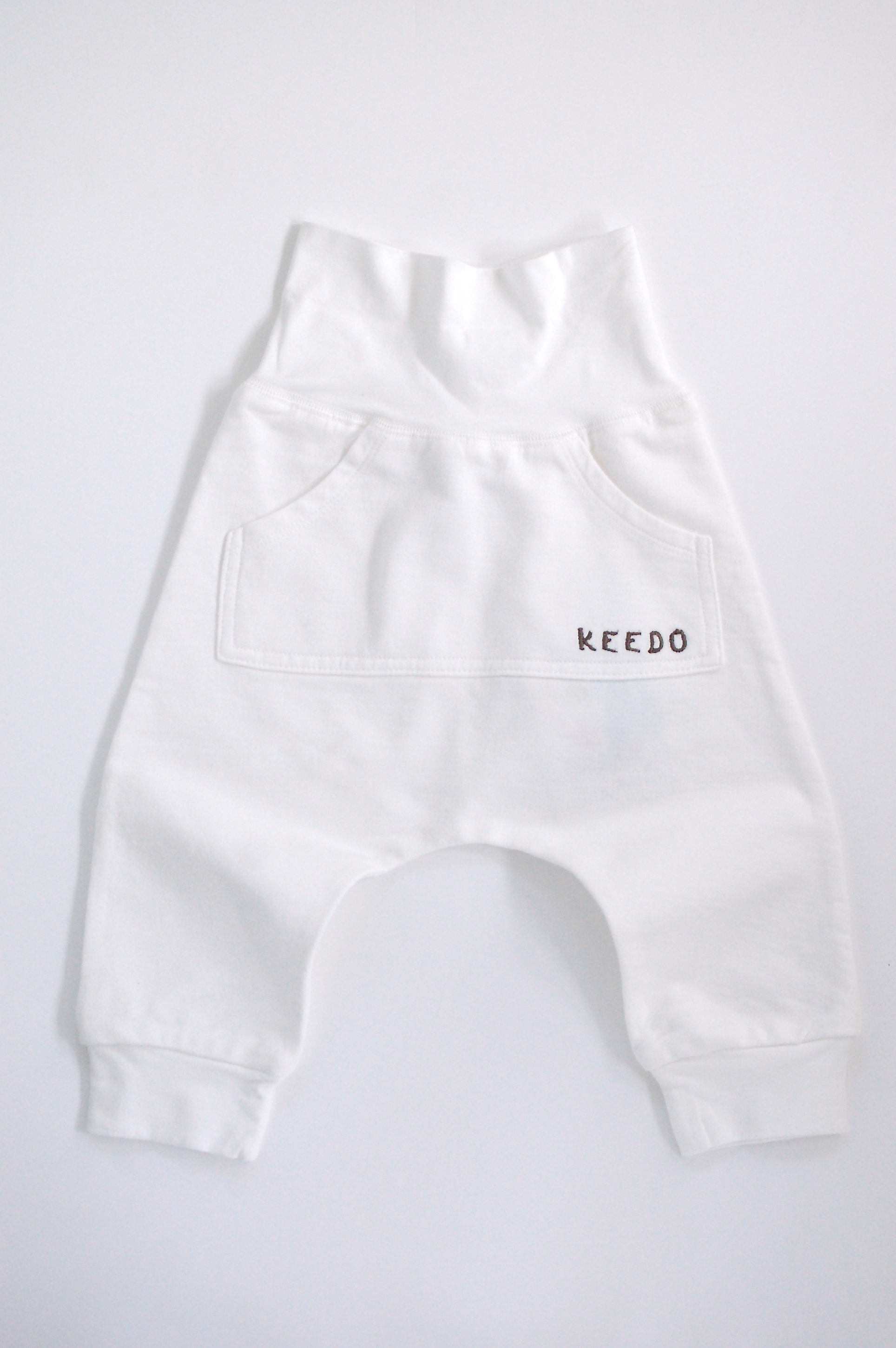 Pocket Pants (Cream)