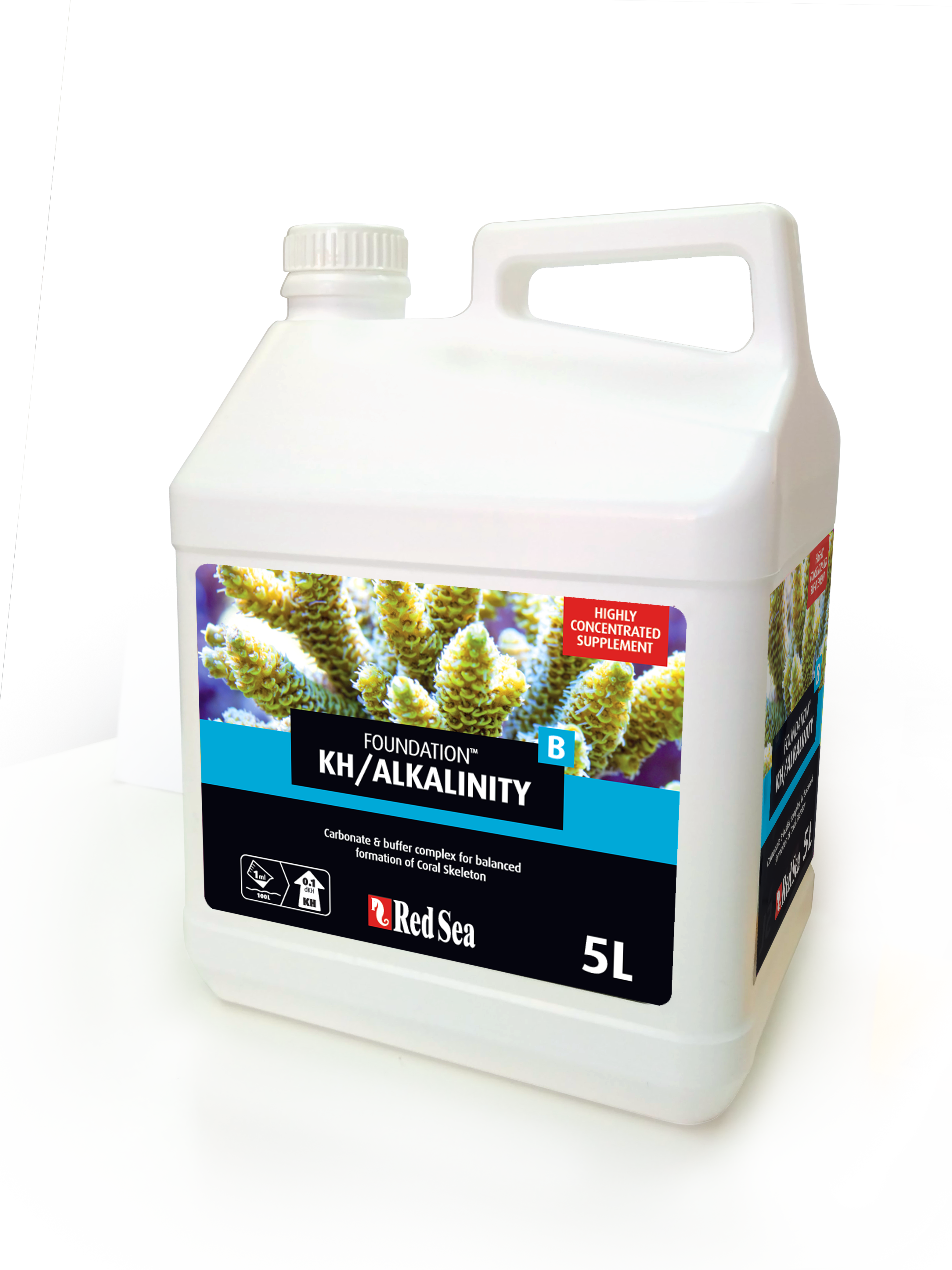 Foundation  KH/Alkalinity (Alk) - 5 Litre (Foundation B)