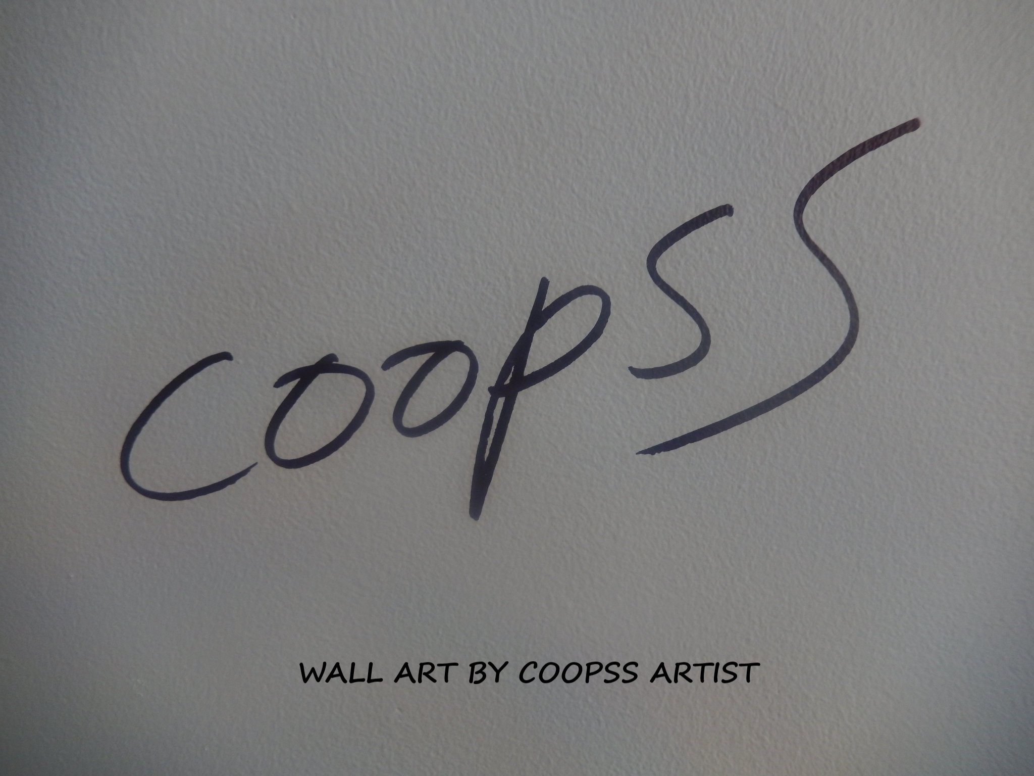 Wall Art by COOPSS Artist