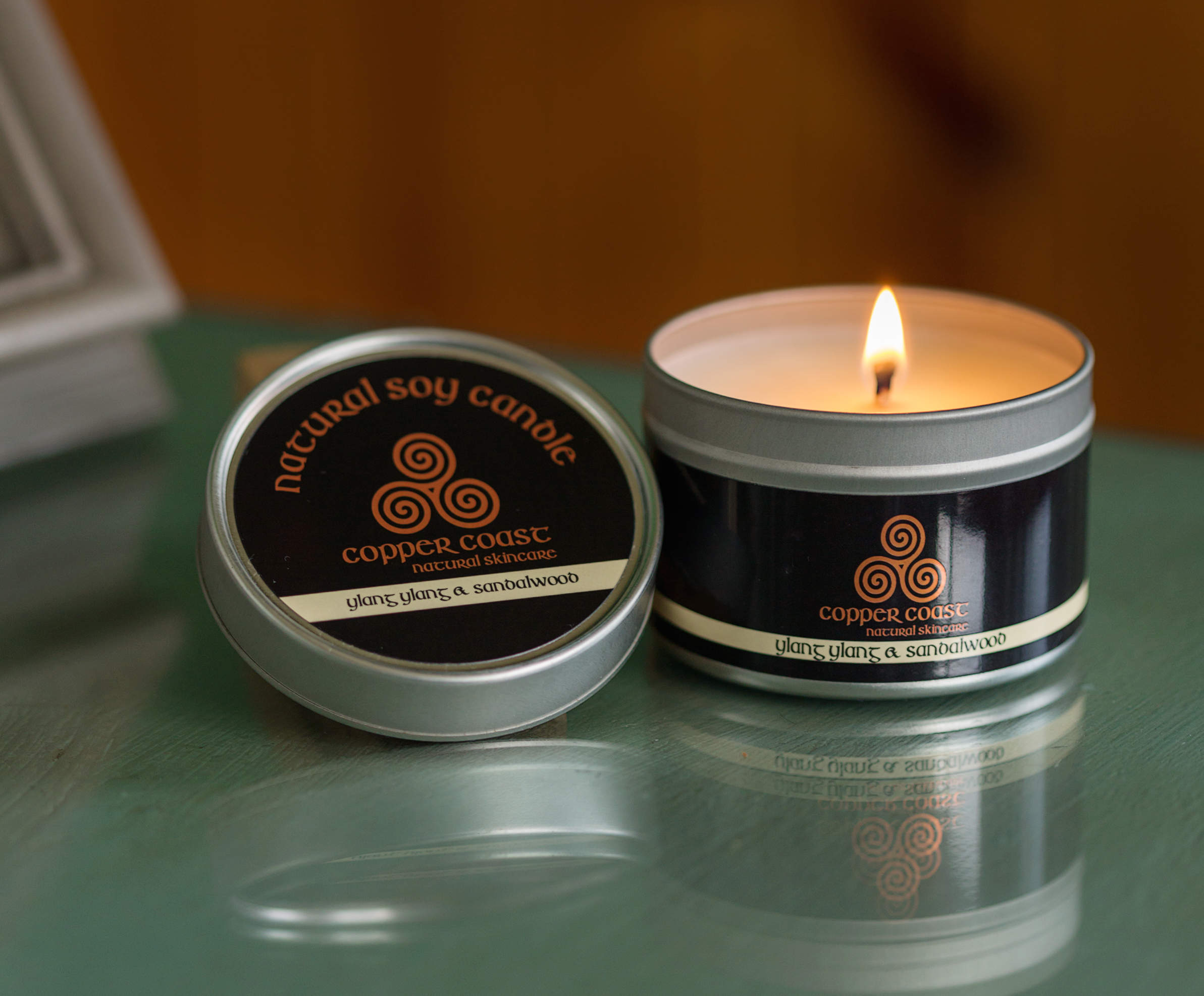 Soy Wax Candles - 100ml Tin