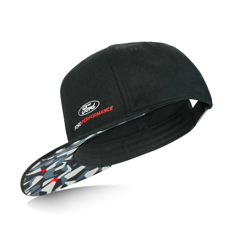 Ford Performance Camo Flat Cap